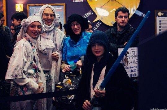 En photo: La Folie de la soirée Star Wars au cinéma Pathé Loire 42