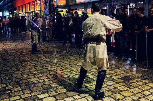 En photo: La Folie de la soirée Star Wars au cinéma Pathé Loire 41