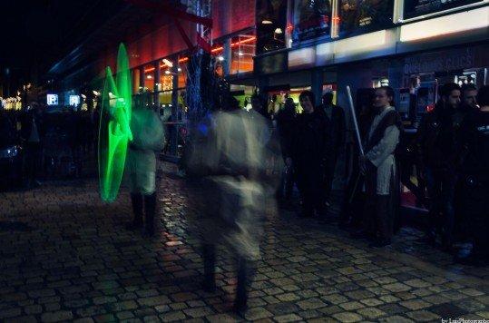 En photo: La Folie de la soirée Star Wars au cinéma Pathé Loire 40