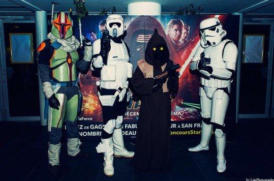 En photo: La Folie de la soirée Star Wars au cinéma Pathé Loire 37