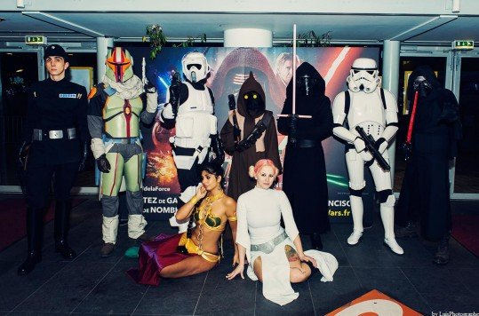 En photo: La Folie de la soirée Star Wars au cinéma Pathé Loire 36