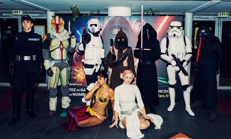 En photo: La Folie de la soirée Star Wars au cinéma Pathé Loire 1