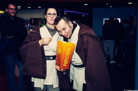 En photo: La Folie de la soirée Star Wars au cinéma Pathé Loire 35