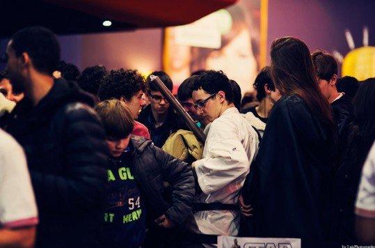 En photo: La Folie de la soirée Star Wars au cinéma Pathé Loire 33