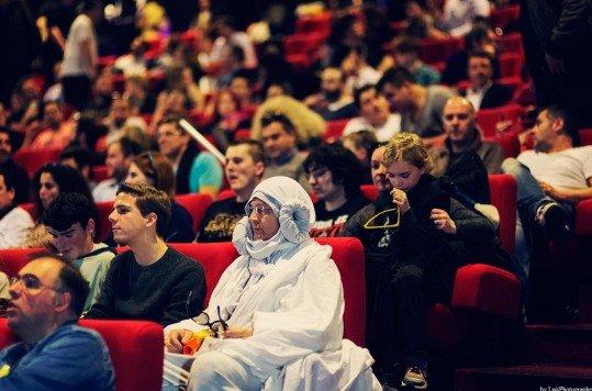 En photo: La Folie de la soirée Star Wars au cinéma Pathé Loire 30