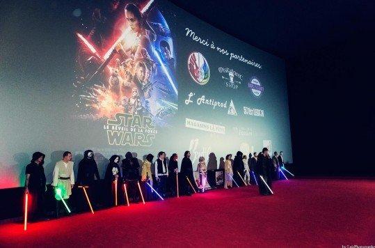 En photo: La Folie de la soirée Star Wars au cinéma Pathé Loire 24