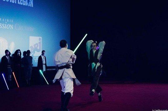 En photo: La Folie de la soirée Star Wars au cinéma Pathé Loire 21