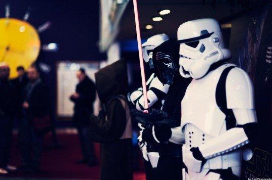 En photo: La Folie de la soirée Star Wars au cinéma Pathé Loire 83