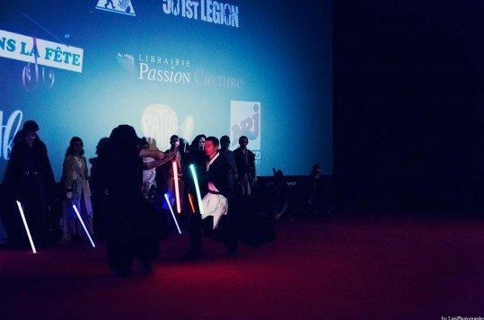 En photo: La Folie de la soirée Star Wars au cinéma Pathé Loire 20