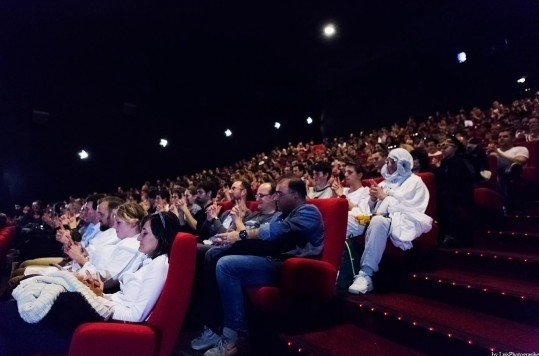 En photo: La Folie de la soirée Star Wars au cinéma Pathé Loire 17