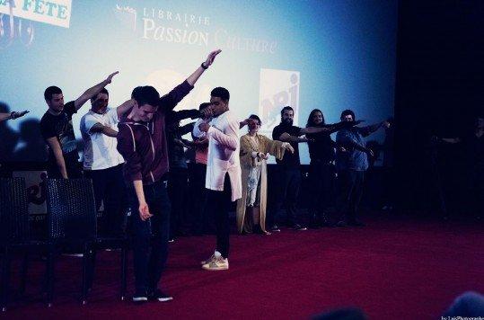 En photo: La Folie de la soirée Star Wars au cinéma Pathé Loire 16