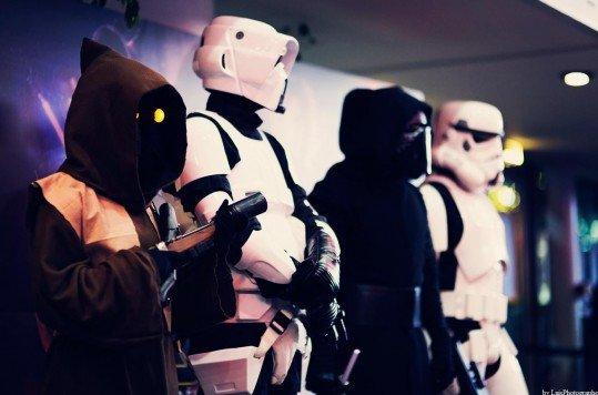 En photo: La Folie de la soirée Star Wars au cinéma Pathé Loire 82