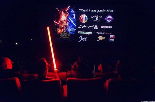 En photo: La Folie de la soirée Star Wars au cinéma Pathé Loire 10