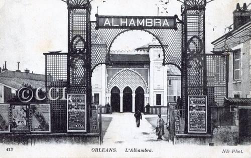 Orléans Alhambra Salle de Spectacel