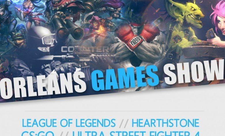 Orléans Games Show, le Esport s'invite à Orléans le temps d'un week-end 1