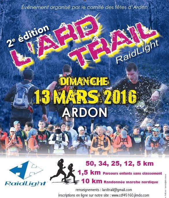 L'ARD TRAIL d'Ardon revient en mars 5