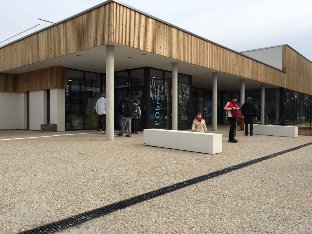 La nouvelle piscine L'Obraysie s'ouvre au public 19