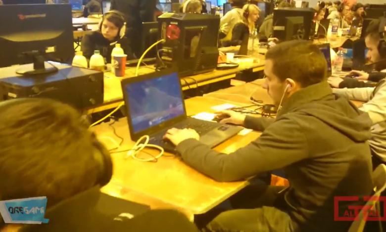 Reportage vidéo sur le premier Orléans Games Show 1