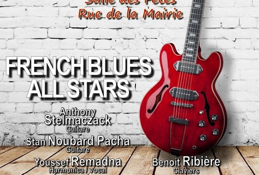 French All Star Blues Orleans 2016