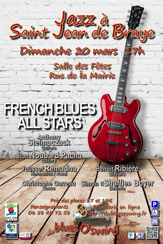 Les French Blues All Stars en concert à Saint-Jean de Braye 1