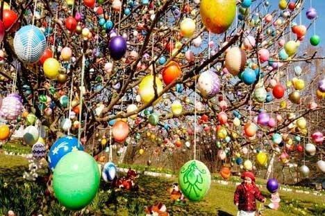 Des chocolats de Pâques tombés du ciel ce matin à Orléans 10