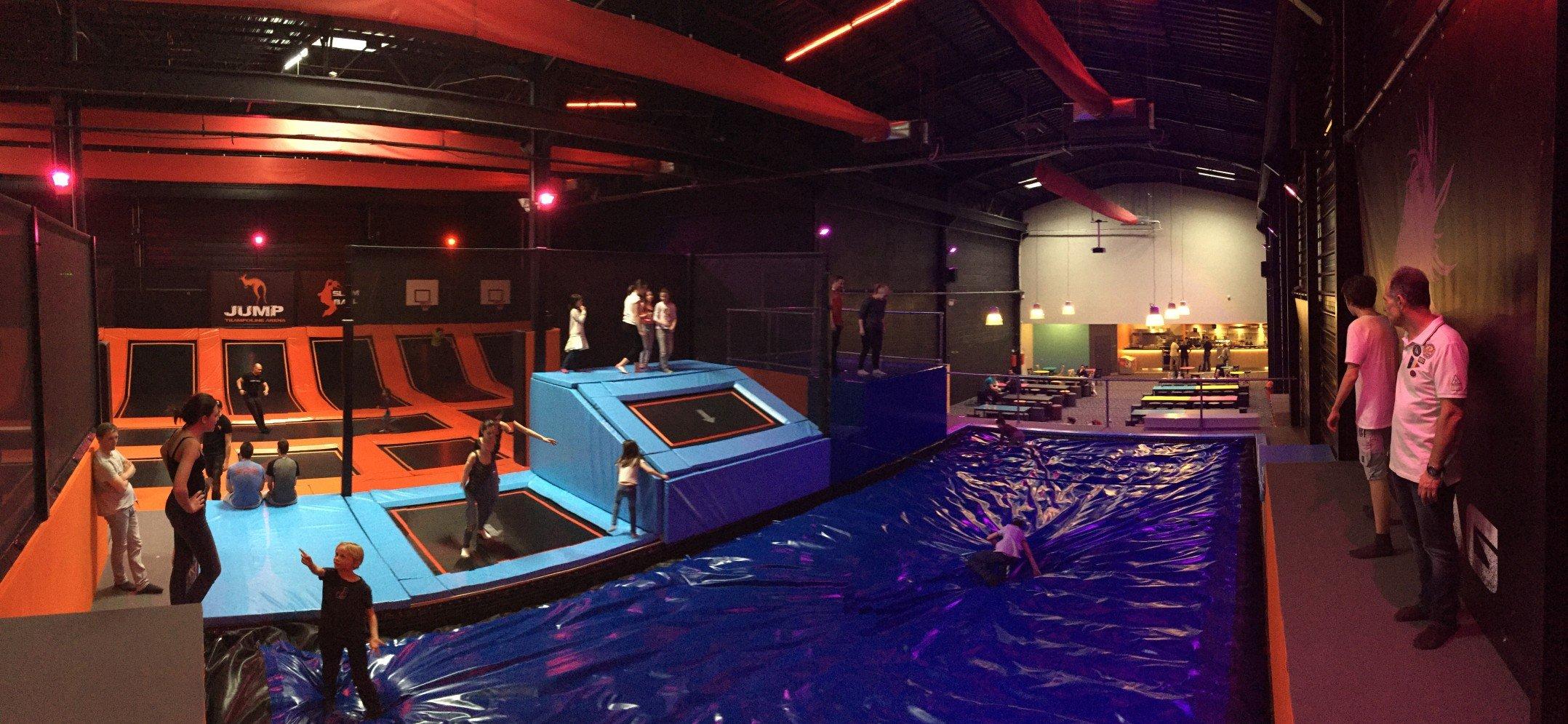 On a essayé JUMP Orléans, parc dédié aux trampolines. 11