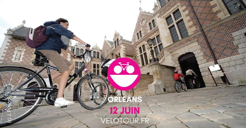 RDV le 12 Juin pour la 8ème édition d'Orléans Vélotour 13