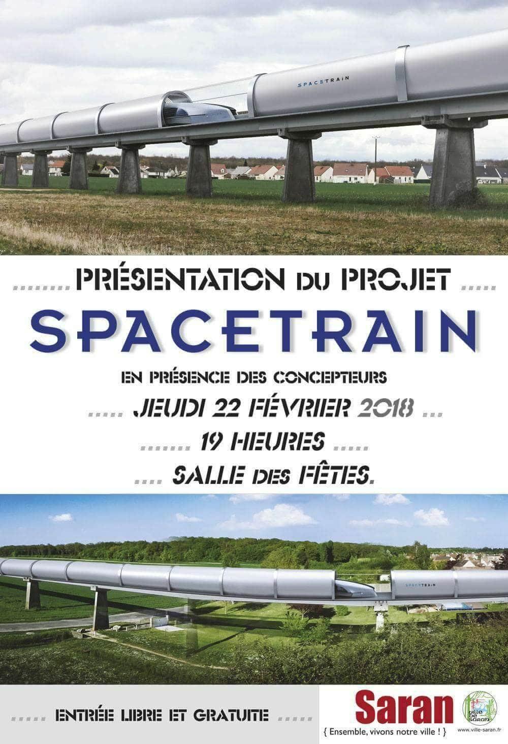 SpaceTrain, 36 mois pour faire revivre l'Aérotrain 2