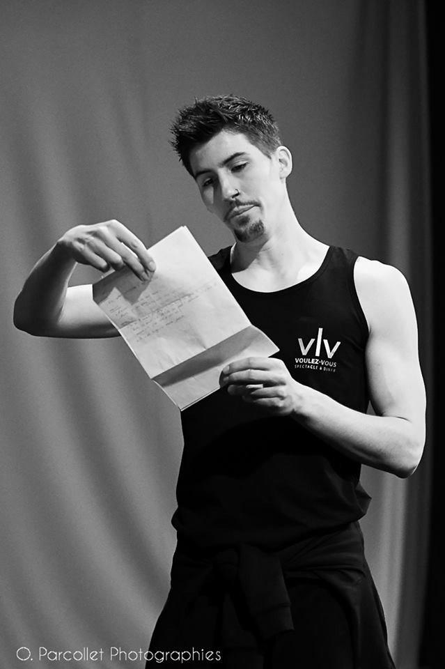 Maxime, chorégraphe et maître de ballet au Voulez-Vous 1