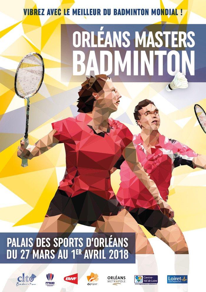Rendez-vous au Orléans Masters Badminton 1