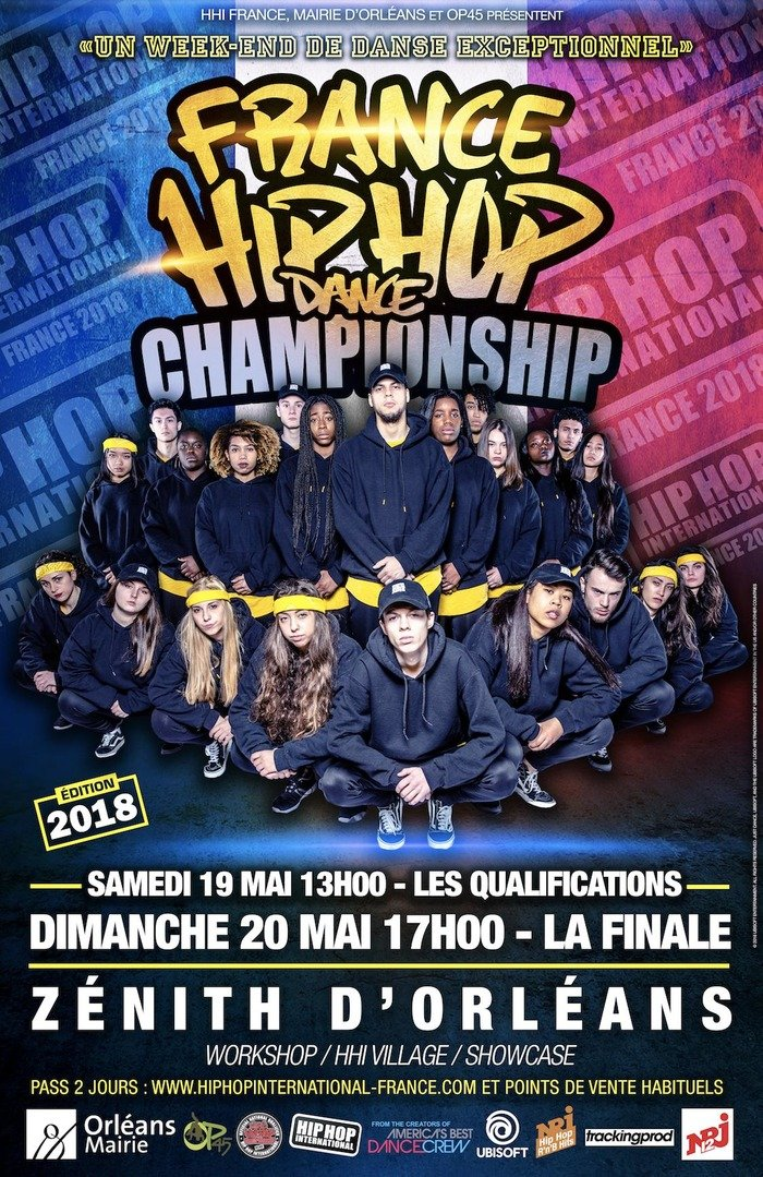 Le Zénith d'Orléans accueille le Hip Hop International 5