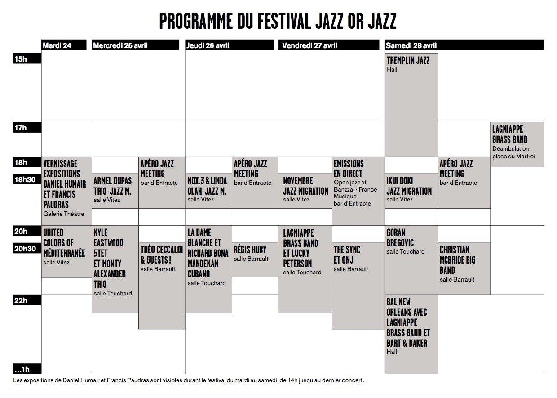 Jazz or Jazz 2018 est lancé ! 9