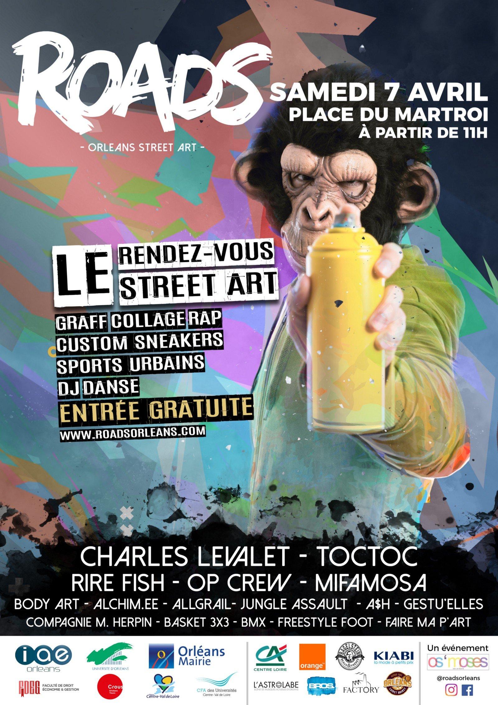 Découvrez ROADS, un festival dédié au Street Art. 2