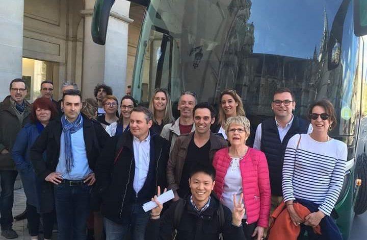 Les ambassadeurs d'Orléans débarquent en Chine ! 1