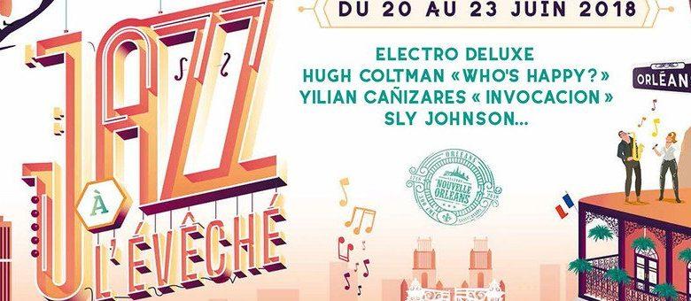 Jazz à l'Évêché 2018 est de retour du 20 au 23 juin ! 1