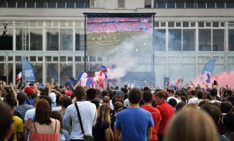 FRANCE-BELGIQUE: tout savoir sur la Fan Zone 1
