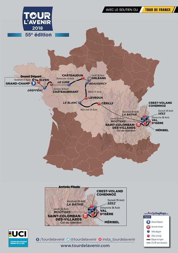 LE TOUR DE L'AVENIR 2018 PASSERA PAR ORLÉANS! 1