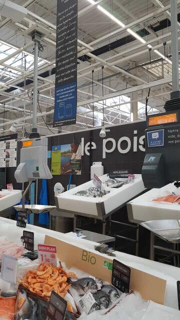 Carrefour innove et vous propose de vous servir dans vos contenants. 6