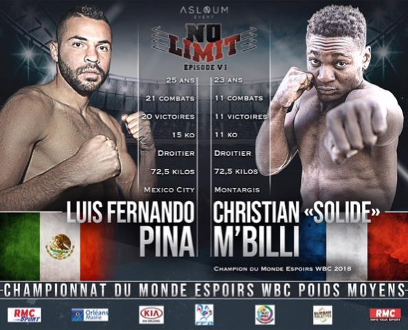NO LIMIT VI : Un évènement boxe inédit à Orléans 3