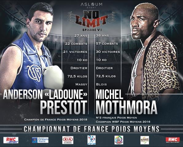 NO LIMIT VI : Un évènement boxe inédit à Orléans 5