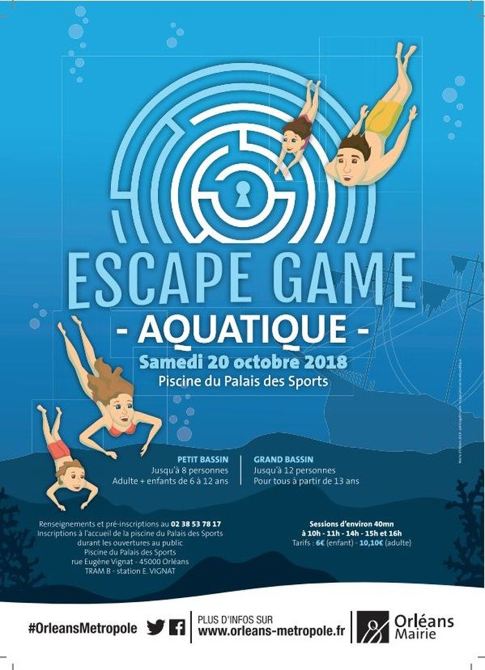 Insolite: Faites un Escape Game à la piscine 8