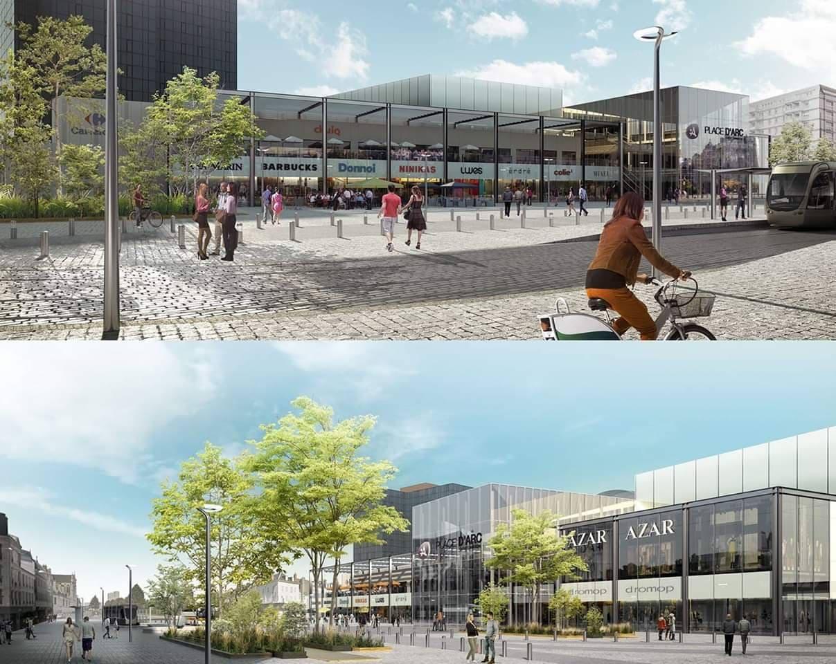 Et si le futur Place d'Arc ressemblait à ça ? 1