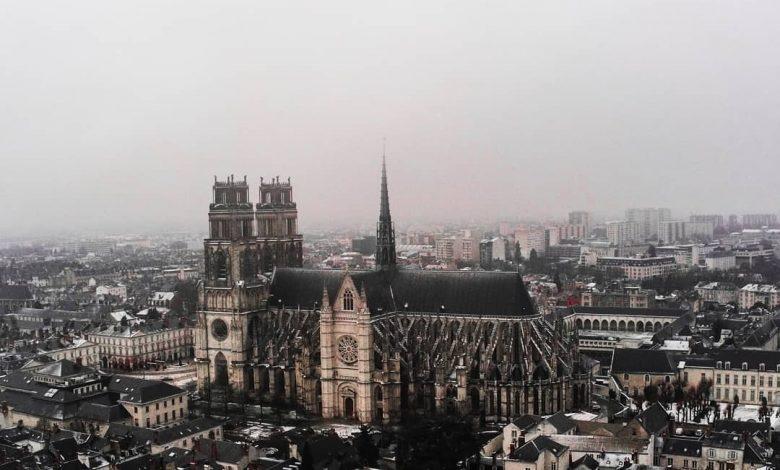 Orléans, première neige 1