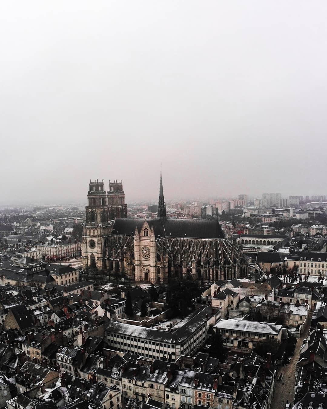 Orléans, première neige 2