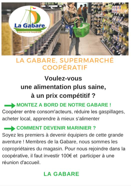 La Gabare, le projet de grand supermarché coopératif arrive sur Orléans. 2