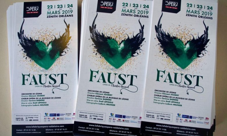 La Fabrique Opéra Val de Loire présente FAUST 1