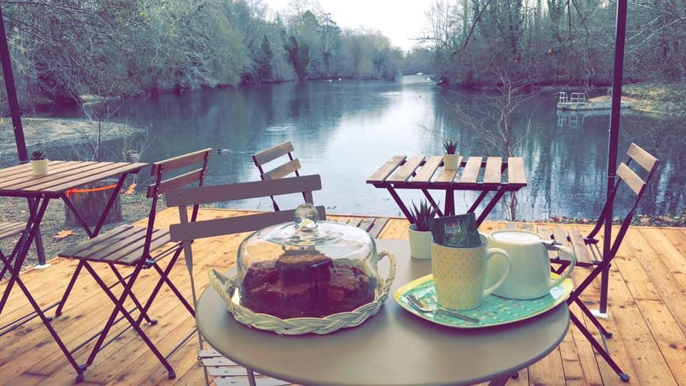 Prendre un café au bord du Loiret, c'est possible ! 35