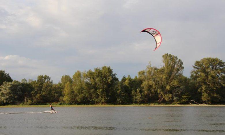Kite Surf sur la Loire Saint Cyr en Val
