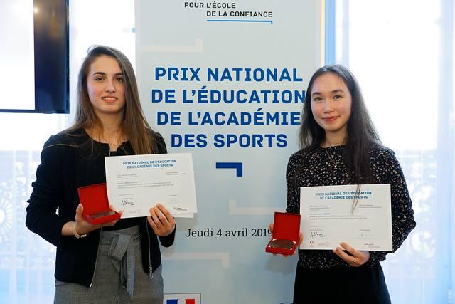 Une jeune joueuse du Fleury Loiret HB primée par l'Education Nationale ! 6