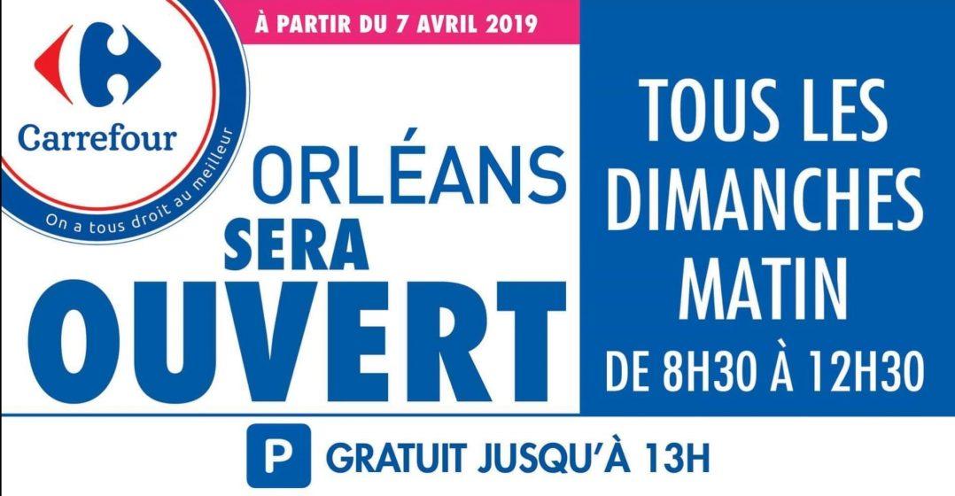 Au tour de Carrefour Place d'Arc d'ouvrir le dimanche 2